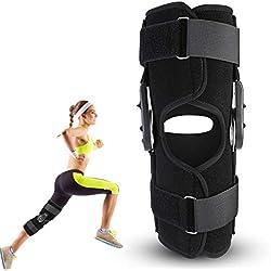 Orthèse du genou, Orthèse de genou, Genouillère attelle sport, Orthopédie des lésions ligamentaires, Protection de sécurité, Orthèse de soutien soutient le soutien de la cheville(S)