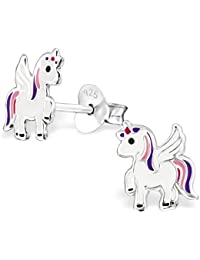Unicorn Earrings - Sterling Silver