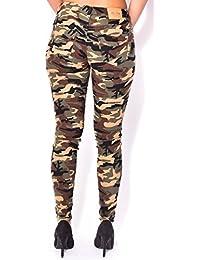 Pantalon skinny camouflage
