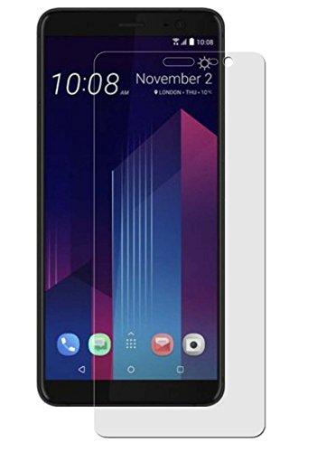 Preisvergleich Produktbild HTC U11 Plus - 3x Anti-Shock Displayschutzfolie - seidenmatte-Antifingerprint Schutz Folie - entspiegelte Oberfläche - Antireflex