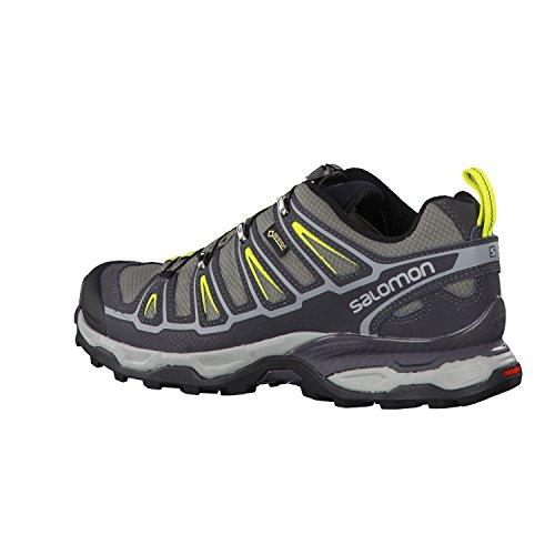 Salomon X Ultra II GTX Herren Trekking und Wanderschuhe Grau