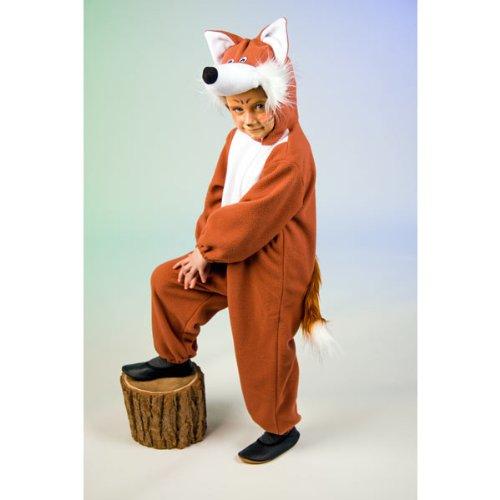 Kostüm Kind Fuchs - Karneval Kinder Tier Kostüm Fuchs Fuchskostüm Tierkostüm Größe 128