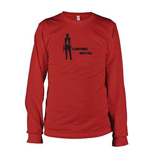 TEXLAB - Cantina Royal - Langarm T-Shirt Rot