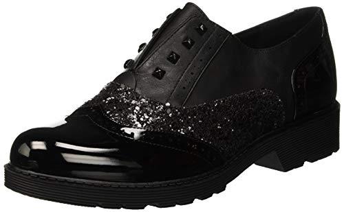 Bata 5116240, Zapatos Cordones Brogue Mujer, Negro