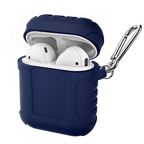 SDB AirPods Funda de Silicona Ultra Ligera de Cuerpo Completo para Apple...