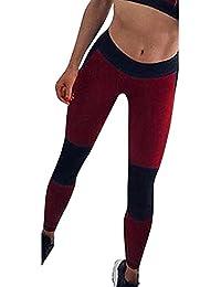 Amazon.es  leotardos mujer - Rojo   Leggings   Mujer  Ropa b31df4a4e648