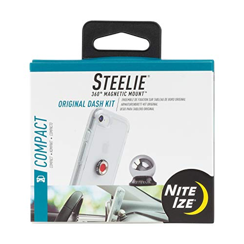 Nite Ize STCK-11-R8 Steelie Car Mount Kit, Auto-Halterung für Smartphones und GPS Car Mount-kit