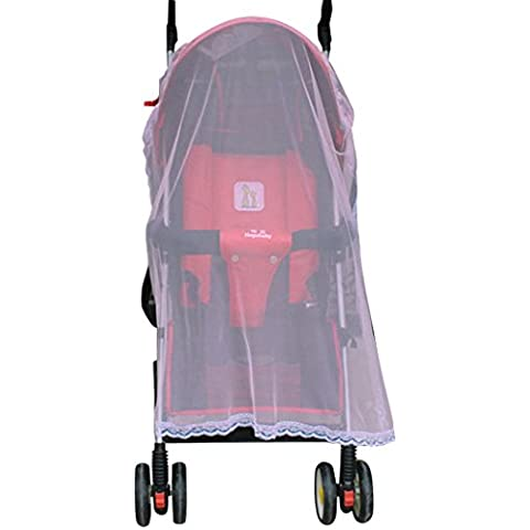 Outgeek bambino zanzariera per passeggino vettore portatile