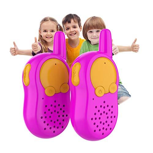 inder, Kinder Funkgerät,Woki Toki für Kinder, Spielzeug 2 3 4 Jährige mädchen, Walkie Talkie für Kinder, Faschingskostüme Kinder Mädchen, Spiele Mädchen Draussen ()