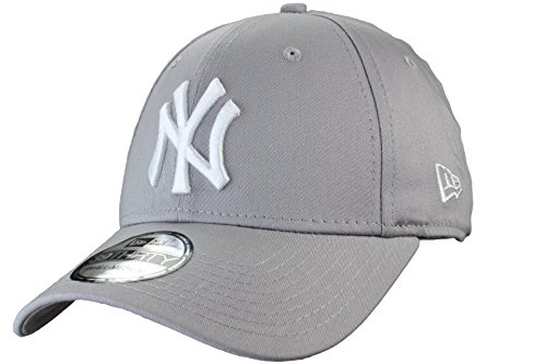 New York Yankees 39thirty League Basic Basecap von New Era | Farbe: Gray/White | Größe: S/M