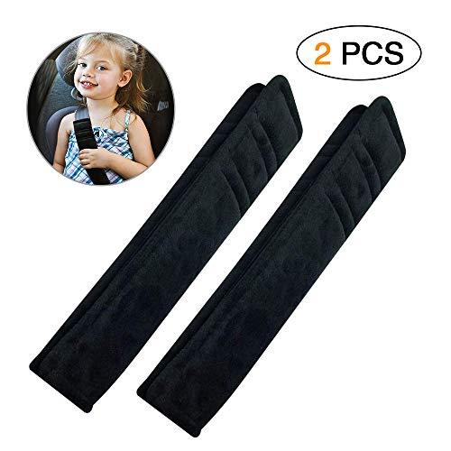 Guaine per cintura di sicurezza 2 pezzi protezioni comfort per cintura di sicurezza auto per bambini e adulti