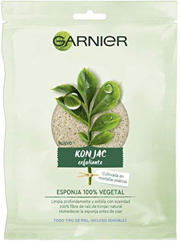 Garnier BIO Esponja Exfoliante Limpiadora Konjac Natural