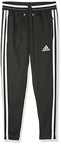adidas Kinder Sportshose Lang Con16 Training Pants Y, black/white, 164, AX7043