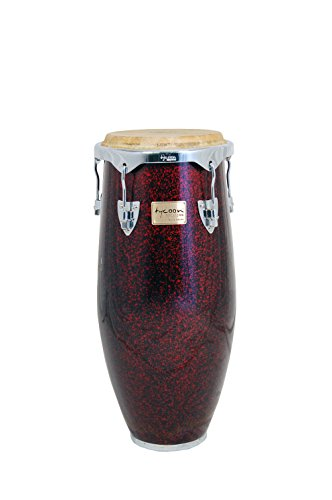 Tycoon Percussion Concerto Red Pearl 27,9cm 3/10,2cm Conga inkl. Single Ständer
