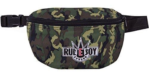 Original 2stoned Hüfttasche mit Stick Classic Logo in mehreren Farben Camo (Rudeboy)