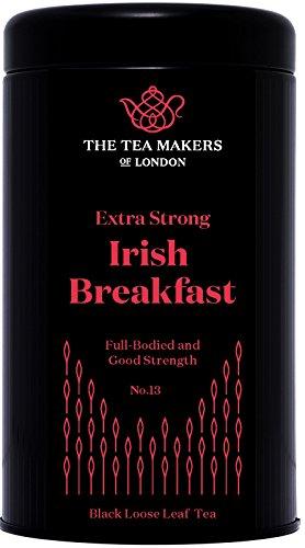 The Tea Makers of London Irischer Frühstückstee lose Teeblätter schwarzer Tee von prämiertem Teeshop Geschenkidee, 1er Pack (1 x 125 g) (Schwarze Teeblätter)