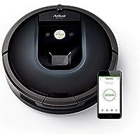 iRobot Roomba 981 Saugroboter (ideal für Teppiche durch hohe Saugkraft, Teppich-Turbo-Modus, Dirt Detect Technologie, WLAN-fähig und per App programmierbar/Steuerung) nachtblau