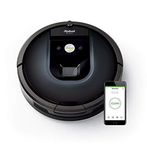 iRobot Roomba 981 Saugroboter (ideal für Teppiche durch hohe Saugkraft, Teppich-Turbo-Modus, Dirt...