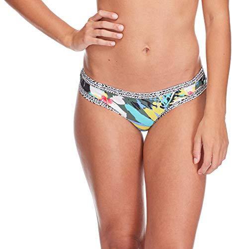 Body Glove Damen Audrey Low Rise Bikini Bottom Swimsuit Bikinihose, Oahu Cactus, Medium -