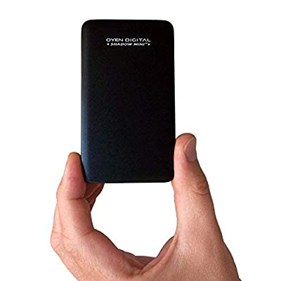 Shadow Mini and trade; External 256GB USB 3.1 Portable Solid State Drive SSD