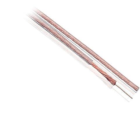 Ex-Pro® - AV-Pro OFC Oxygen Free Copper Bass FLEX Loud Audio/Speaker Cable, 2 x 2.5mm² [OD 11mm x 3mm] - 20m Reel