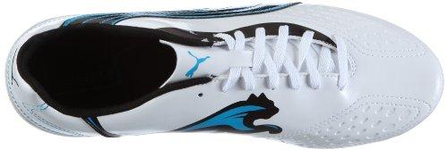 Puma v5.11 i FG 102337 Herren Sportschuhe - Fußball Weiss/white-black-dresden blue