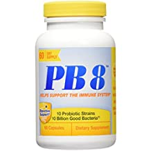 Nutrition Now PB 8 Probiotic Immune Support Supplement, 60 Count