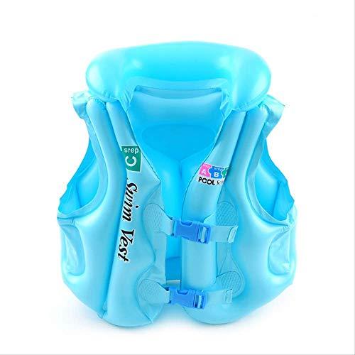 Pool Floats Bebé Nata'o Flutuador Flutuador Crian'as Piscina Infl'vel Float Bebé Ver'o Divertido Brinquedo Piscina De 'gua De Nata'o Vida Jacke Vest Nata'o Anel blau