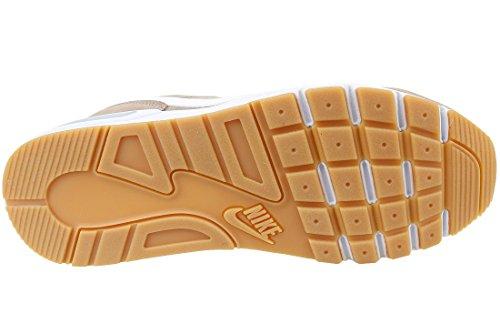 Nike Nightgazer, Baskets Athletic Homme Beige (sépia / Blanc / Gum Light Br)