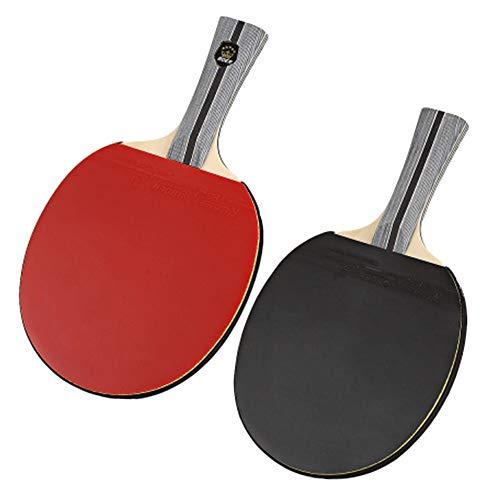 Teamspiel Professioneller Tischtennisschläger. Erweiterter Schläger. Ping Pong Paddle Straight Beat Open Grip