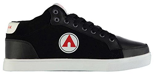 mens-lace-up-tonal-stitching-drip-mid-skate-shoes-12-46-black-wht-red