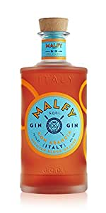 Malfy Con Arancia (Blood Orange), 70cl Italian Gin With 41% Alcohol