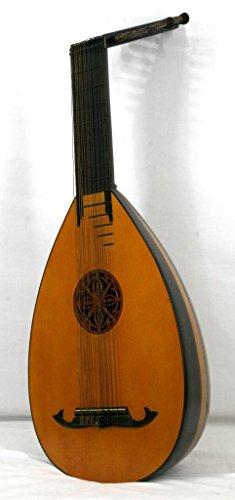 Musikalia luthier-crafted Vintage Renaissance oder ELIZABETHAN 14-string Laute Ahorn und Palisander...