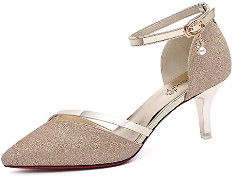 96b62624173838 zhifengliu summer summer summer / a / superficielle des sandales / boucle /  verres avec des chaussures de femme b07ccn2k3d parent   Matériaux  Soigneusement ...