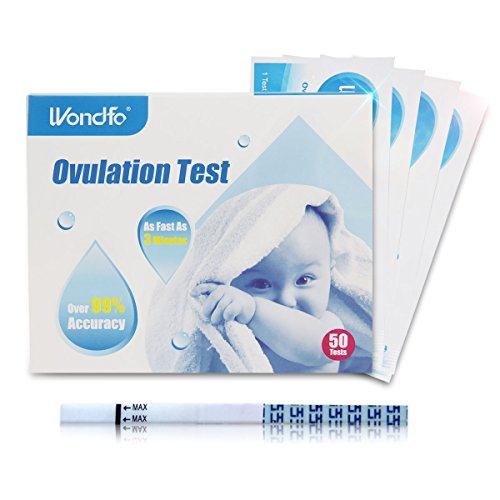 Wondfo 50 x Ovulation Urine Test Strip LH Detection Sticks