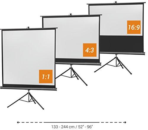 celexon Stativ-Leinwand Economy, Beamer-Leinwand, 211 x 160, Format 4:3 - 4