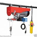 Montacargas/Cabestrante/montacarico/Carretilla eléctrico 100/200kg 480W 12Mt