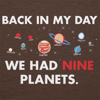 Texlab–Nine Planets–sacchetto di stoffa Marrone