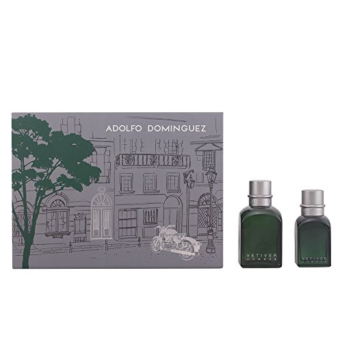 Adolfo Domínguez Vetiver Eau De Toilette Spray 120ml Set 2 Parti 2015