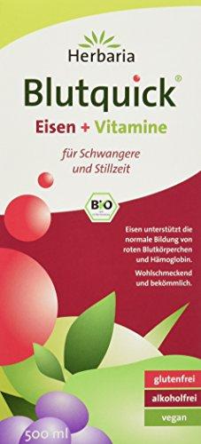 Herbaria Blutquick, bio, 1er Pack (1 x 500 ml) -