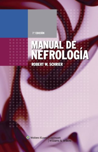 Manual de Nefrologia por Robert W. Schrier