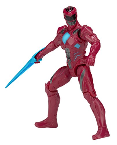 Power Rangers 42601 12,5 cm figurina del Power Ranger rosso del film