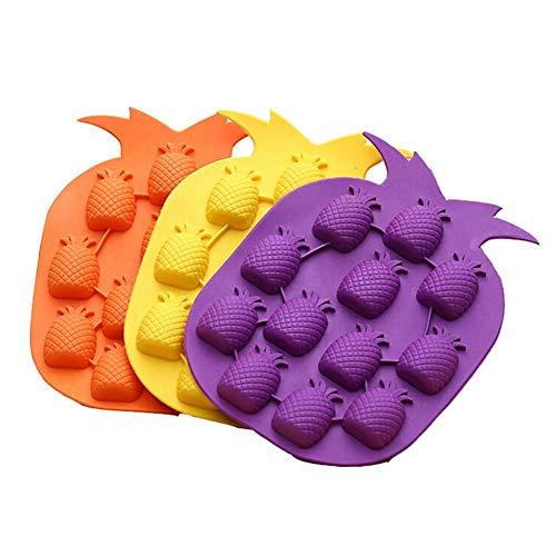 Eiswürfelschale Silikonform Zum Einfrieren Klein Baby Essen Ananas Kreative Form Für Hausgemachte Eiswürfel Oder Snacks
