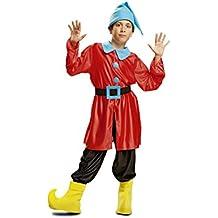 My Other Me - Disfraz de Enanito, talla 3-4 años, color rojo (Viving Costumes MOM00739)