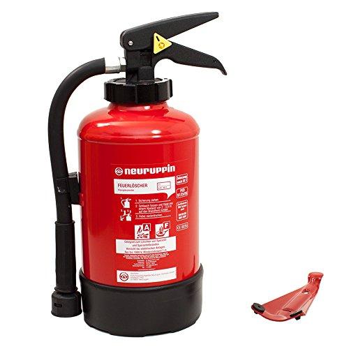 3l Fettbrandlöscher FLN Neuruppin F 3 AKM Aufladelöscher (Instandhaltungsnachweis Feuerlöscher-Tauschsystem)
