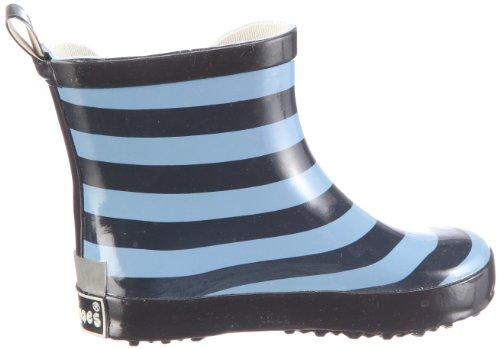 Playshoes Ringel nieder 180359, Bottes de pluie mixte enfant Bleu-TR-I1-3