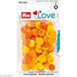 Prym Love Color Snaps gelb