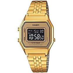 CASIO Reloj con Movimiento Cuarzo LA-680WGA-9B