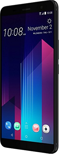"HTC U11+ 6"" Dual SIM 4G 6GB 128GB 3930mAh Black - Smartphones (15.2 cm (6""), 128 GB, 12 MP, Android, 8, Black)"