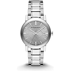 BURBERRY BU9035 - 'The City' Sapphire Glass Swiss Watch